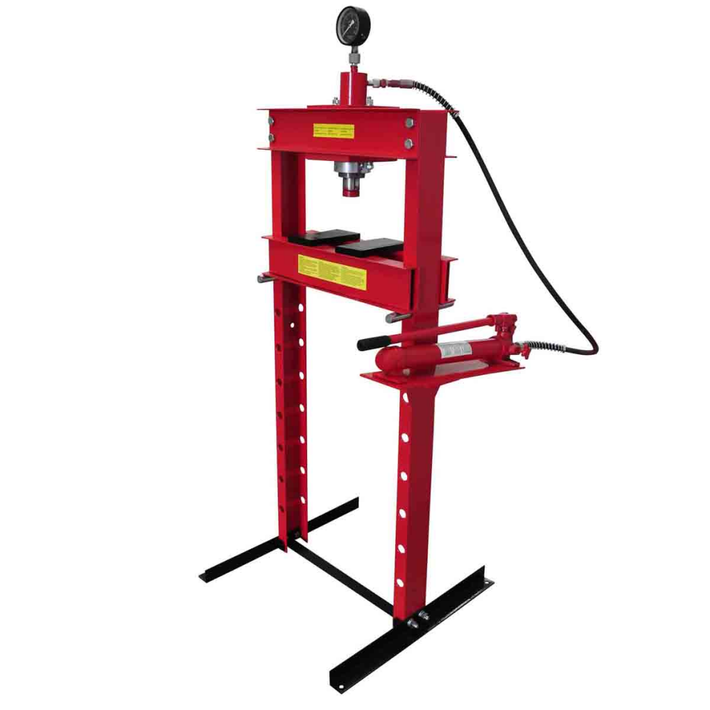 Picture of 20 Ton Air Hydraulic Floor Shop Press H Type