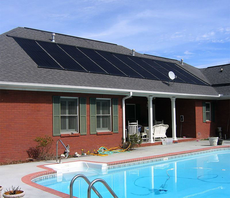 """Picture of 24""""x10' Solar Energy Swimming Pool Sun Heater Panel Above Ground"""