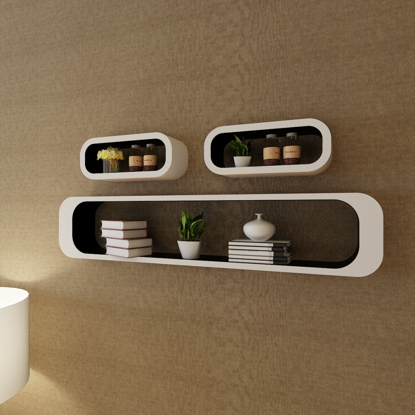 Picture of Floating Shelves - White