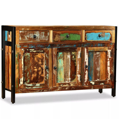 "Picture of Antique-Style Sideboard 47"" - Solid Reclaimed Wood"