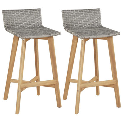 Picture of Dining Bar Chairs - 2 pcs