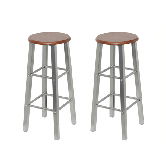 Picture of Bar Stools Metal Frame - 2 pcs