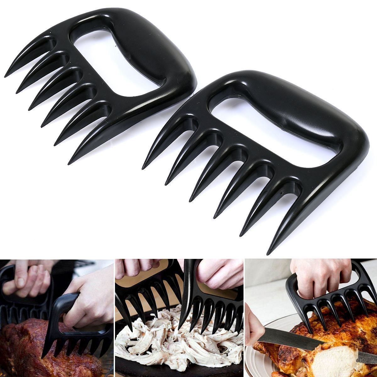 Picture of BBQ Meat Claws Tongs Fork Shredding