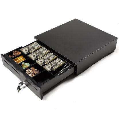 Picture of Cash Drawer Box Printers with Trays Compatible Epson POS