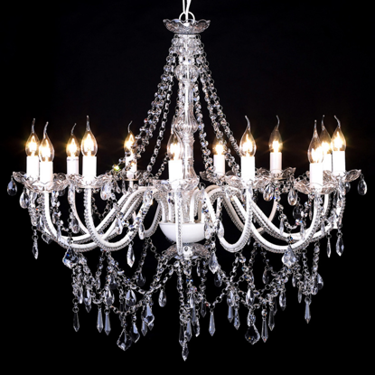 """Picture of Chandelier White 32""""x30"""""""