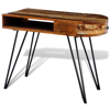 Picture of Desk with Iron Pin Legs - Reclaimed Solid Wood