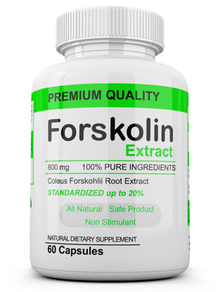 Picture of Dietary Supplement Fat Burner Weight Loss Forskolin