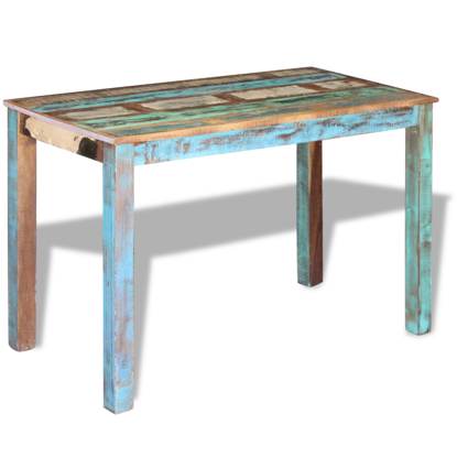 "Picture of Dining Table 45"" - Reclaimed Wood"