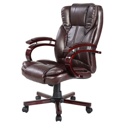 Picture of Ergonomic Executive Office Chair - Brown