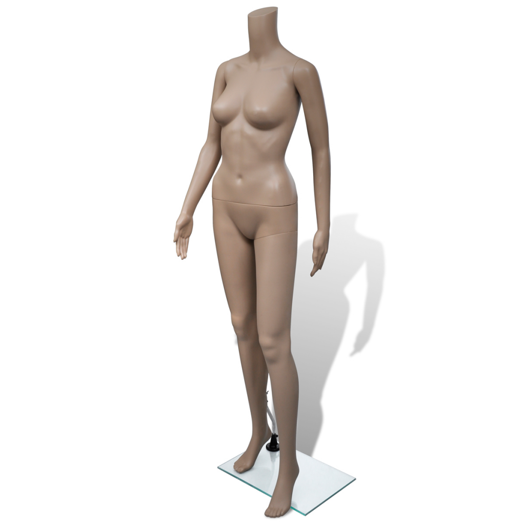 Picture of Female Mannequin Full Body Without Head with Stand Display Clothes