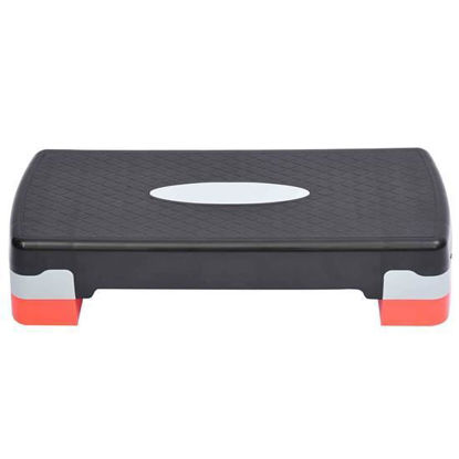 "Picture of Fitness Aerobic Stepper Platform 27"" - Adjustable 4"" - 6"""