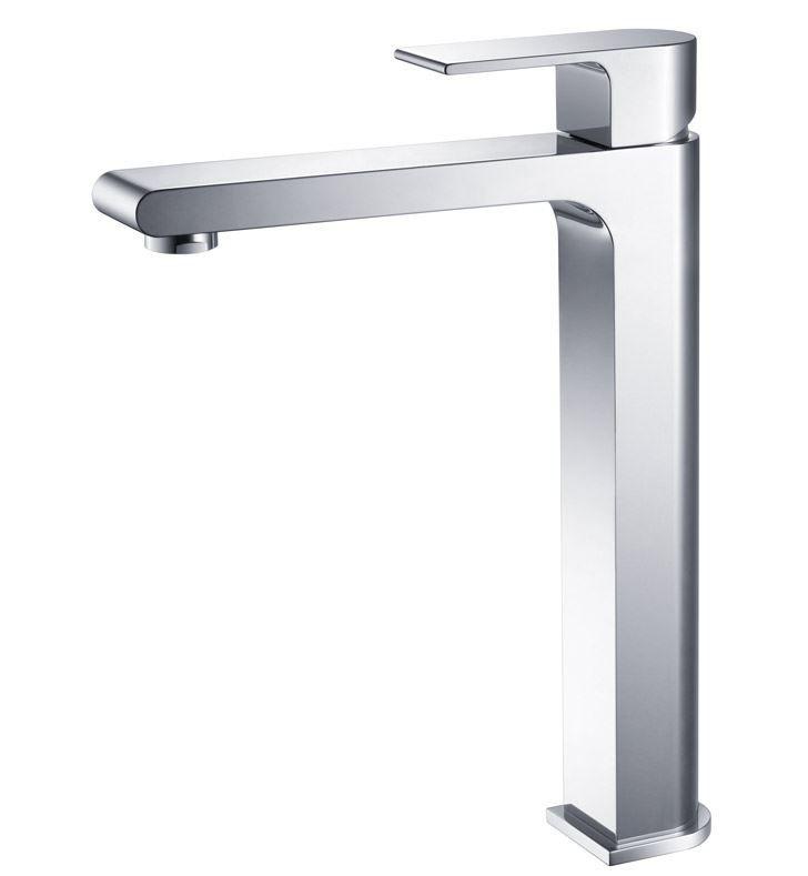 Picture of Fresca Allaro Single Hole Vessel Mount Bathroom Vanity Faucet - Chrome