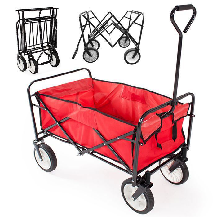 Picture of Folding Wagon Shopping Cart