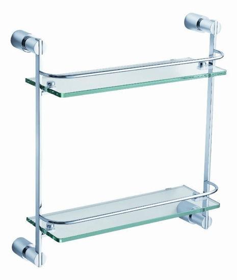 Picture of Fresca Magnifico 2 Tier Glass Shelf - Chrome