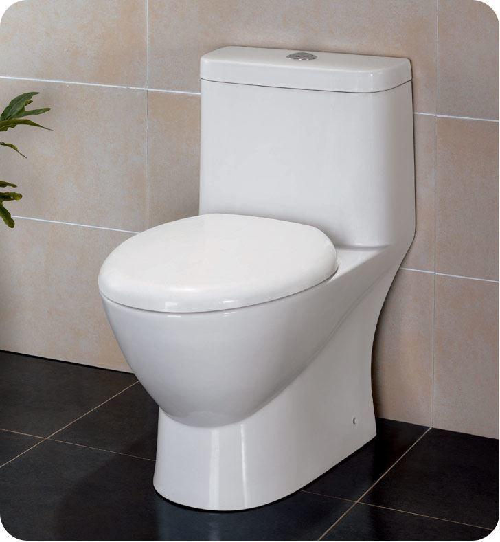 Picture of Fresca Serena One-Piece Dual Flush Toilet w/ Soft Close Seat