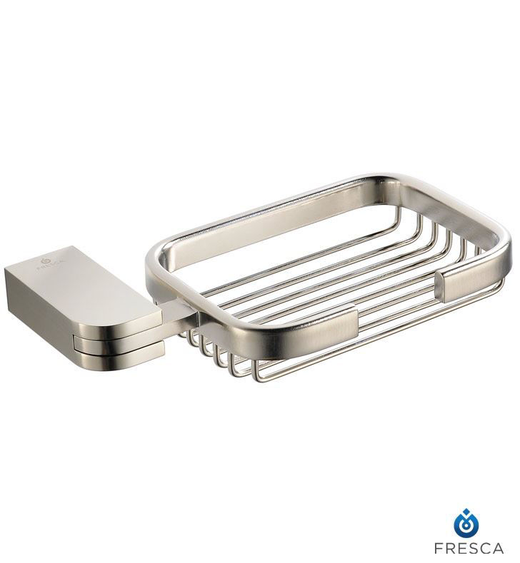 Picture of Fresca Solido Soap Basket - Brushed Nickel