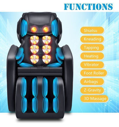 Picture of Full Body Shiatsu Recliner Massage Chair Zero Gravity
