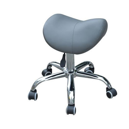 Picture of Adjustable Hydraulic Stool - Gray