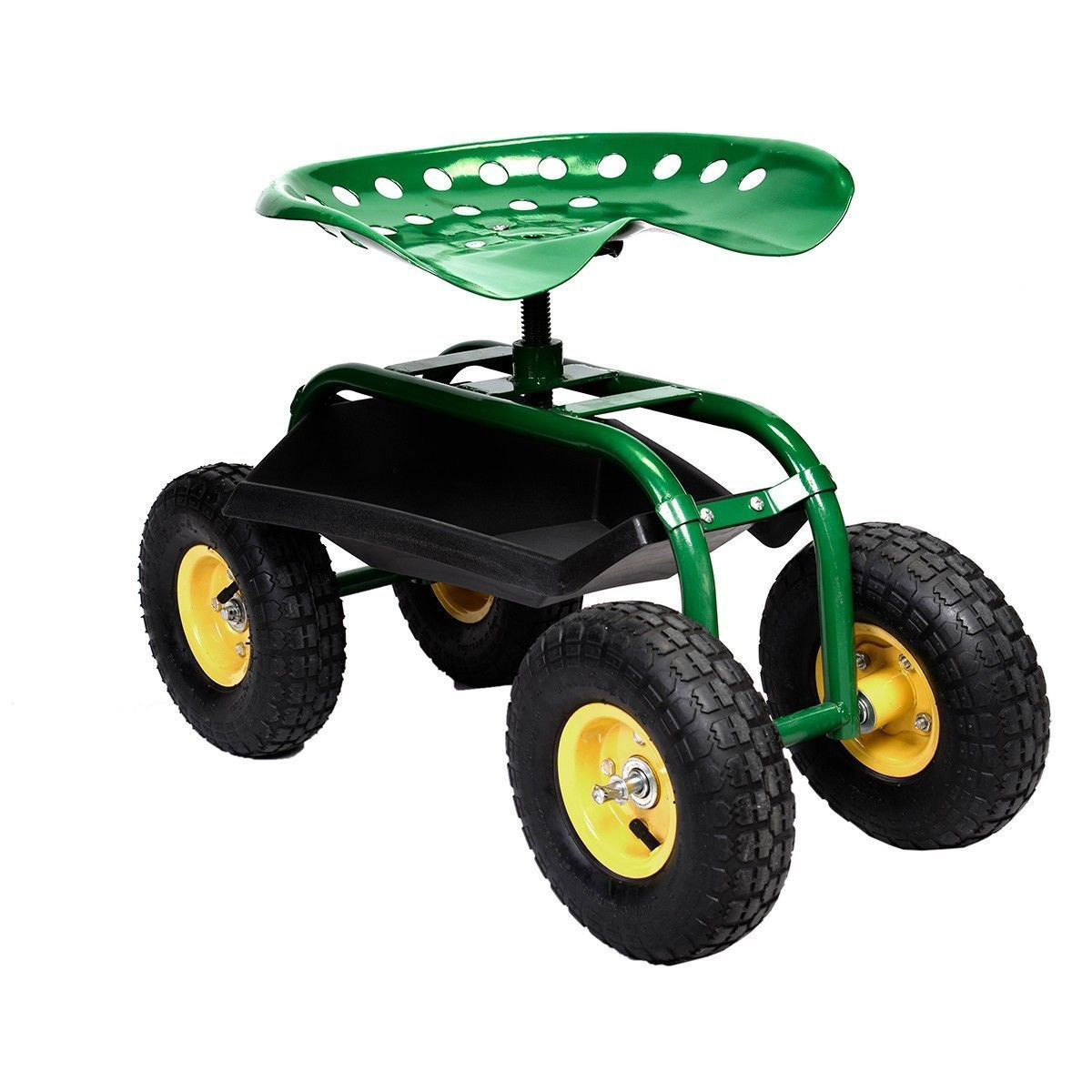 Picture of Garden Planting Rolling Cart