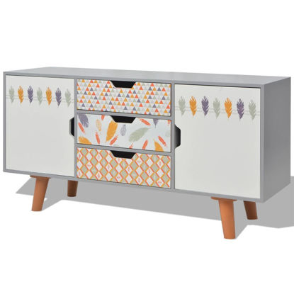 "Picture of Hallway Living Room Sideboard MDF 43"" - Gray"