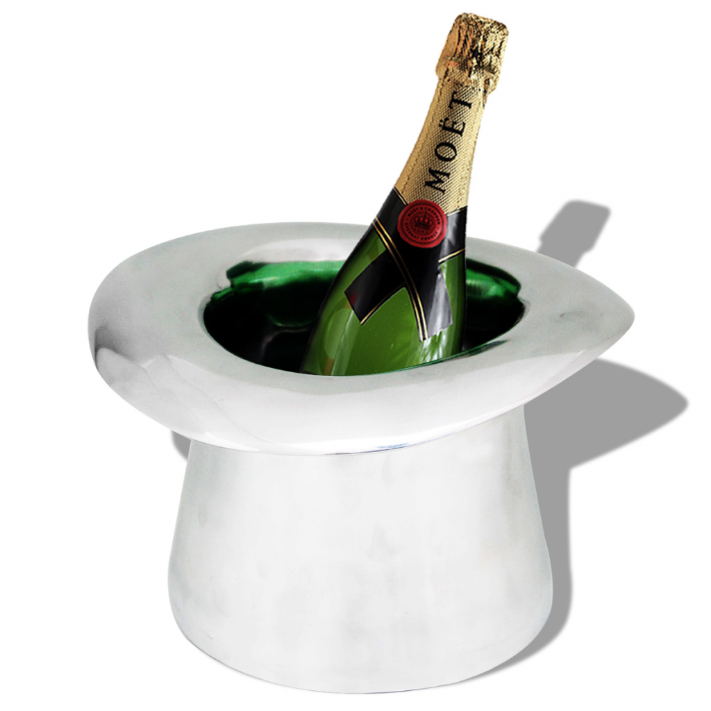 Picture of Hat Shape Aluminum Champagne Cooler