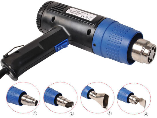 Picture of Heat Gun Hot Air with 4 Nozzles Power Tool