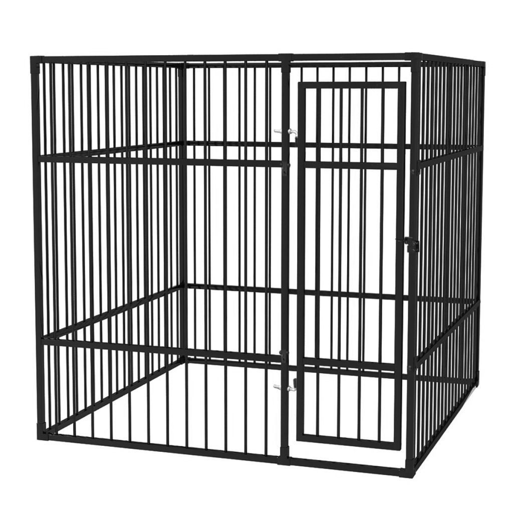Picture of Heavy-Duty Outdoor Dog Kennel 6x6
