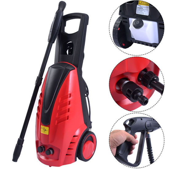 Picture of High Pressure Heavy Duty 2030PSI Electric Washer 2000W 1.76GPM Jet Sprayer