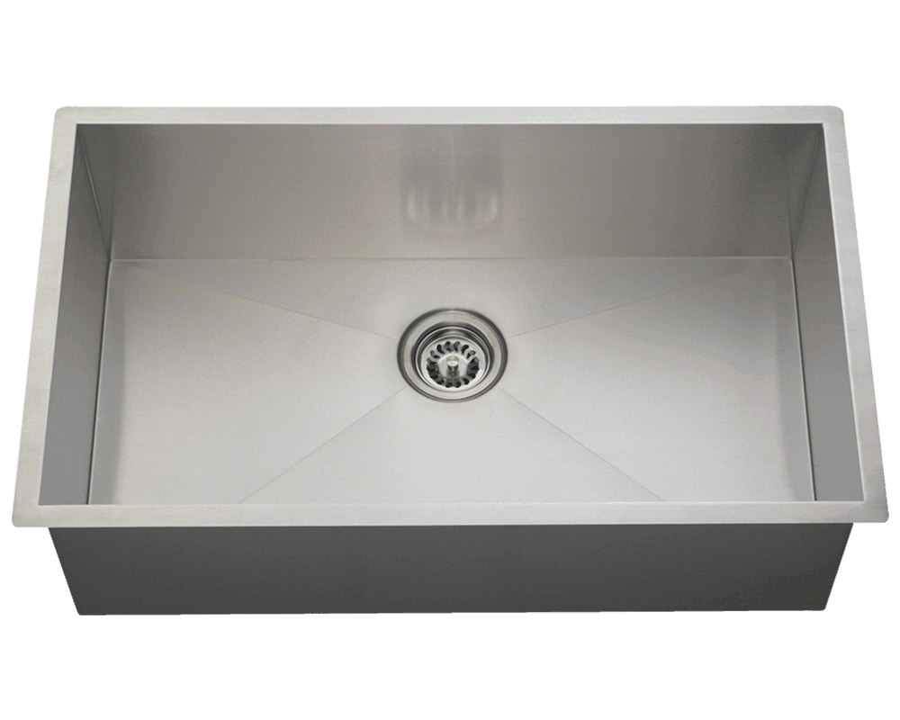 Picture of Industrial Kitchen Rectangular Sink Stainless Steel
