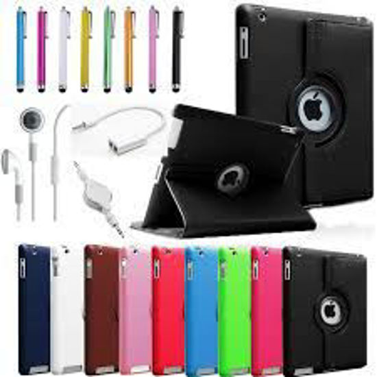 Picture of iPad 2 360 Magnetic Rotating Leather Case Smart Cover Stand Choose from 12 Color