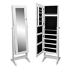 Picture of Jewelry Cabinet with Mirror - White