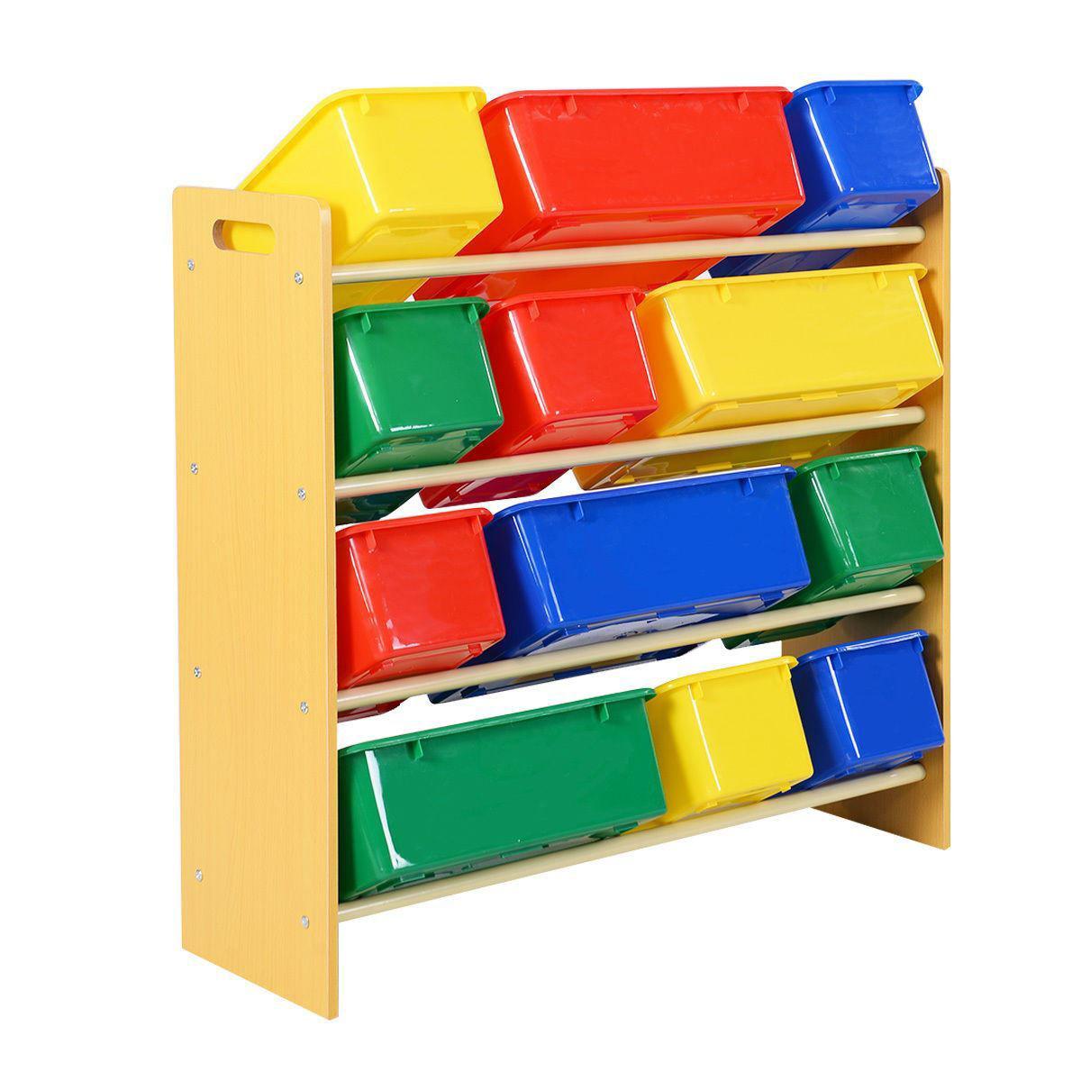 Picture of Kids Playroom Storage Box Bin Organizer