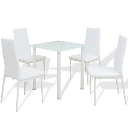 Picture of Kitchen Dining Set - 5pc White