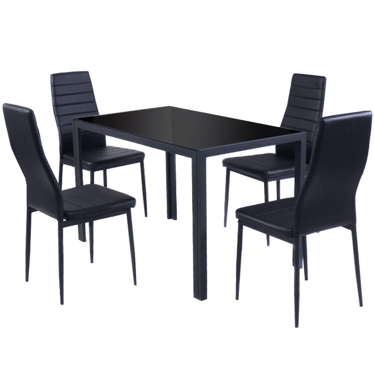 Picture of Kitchen Furniture Set - Black