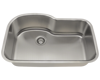 Picture of Kitchen Single Bowl Stainless Steel Sink