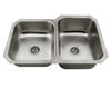 Picture of Kitchen Sink Offset Stainless Steel