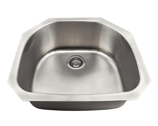 Picture of Kitchen Sink Stainless Steel D-Bowl