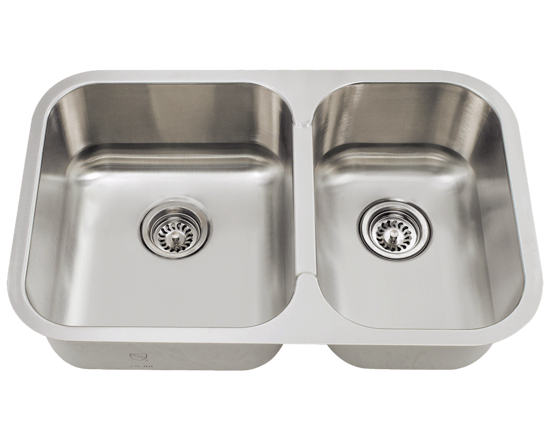 Picture of Kitchen Small Offset Stainless Steel Sink