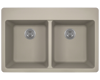 Picture of Kitchen Topmount Sink Double Equal Bowl  AstraGranite