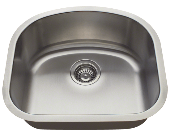 Picture of Kitchen Undermount Sink Stainless Steel D-Bowl