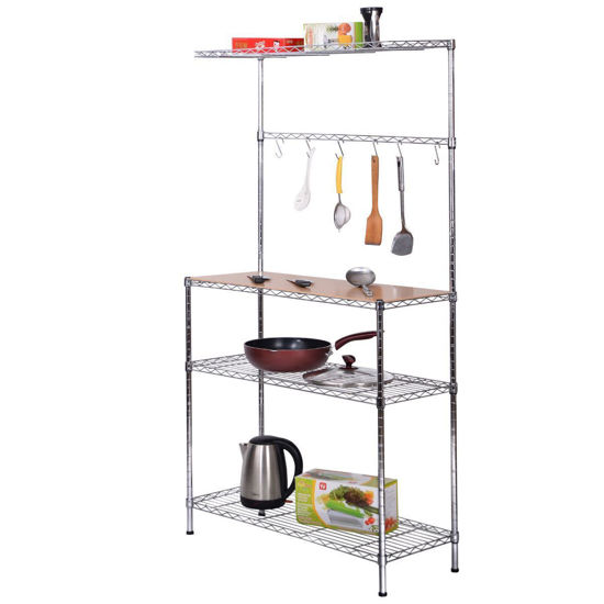 Picture of Kitchen's Storage Rack with Cutting Board