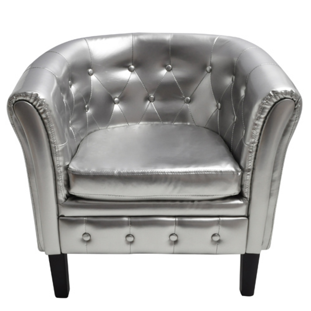 Picture of Living Room Tub Chair - Silver