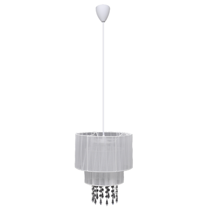"""Picture of Living Room Chandelier 11"""" - White"""