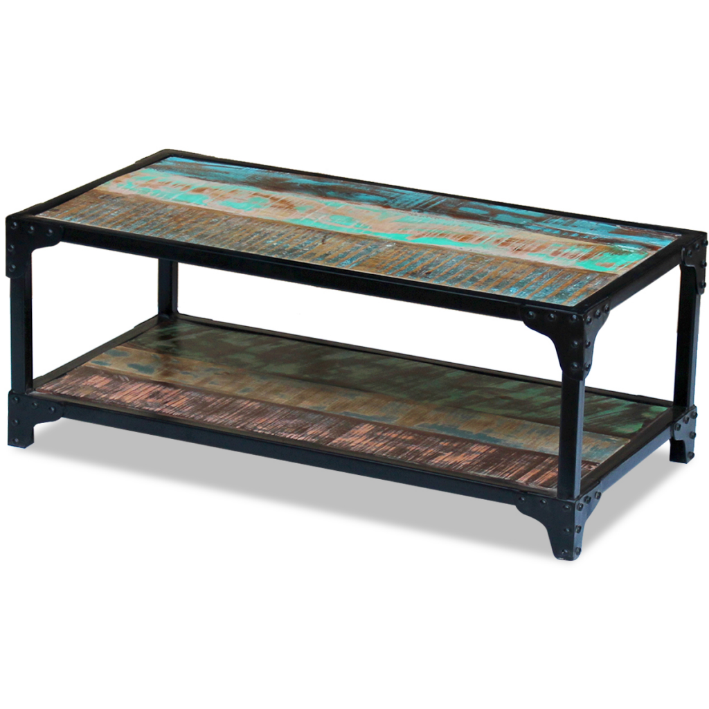 """Picture of Living Room Coffee Table - 35"""" Reclaimed Wood"""