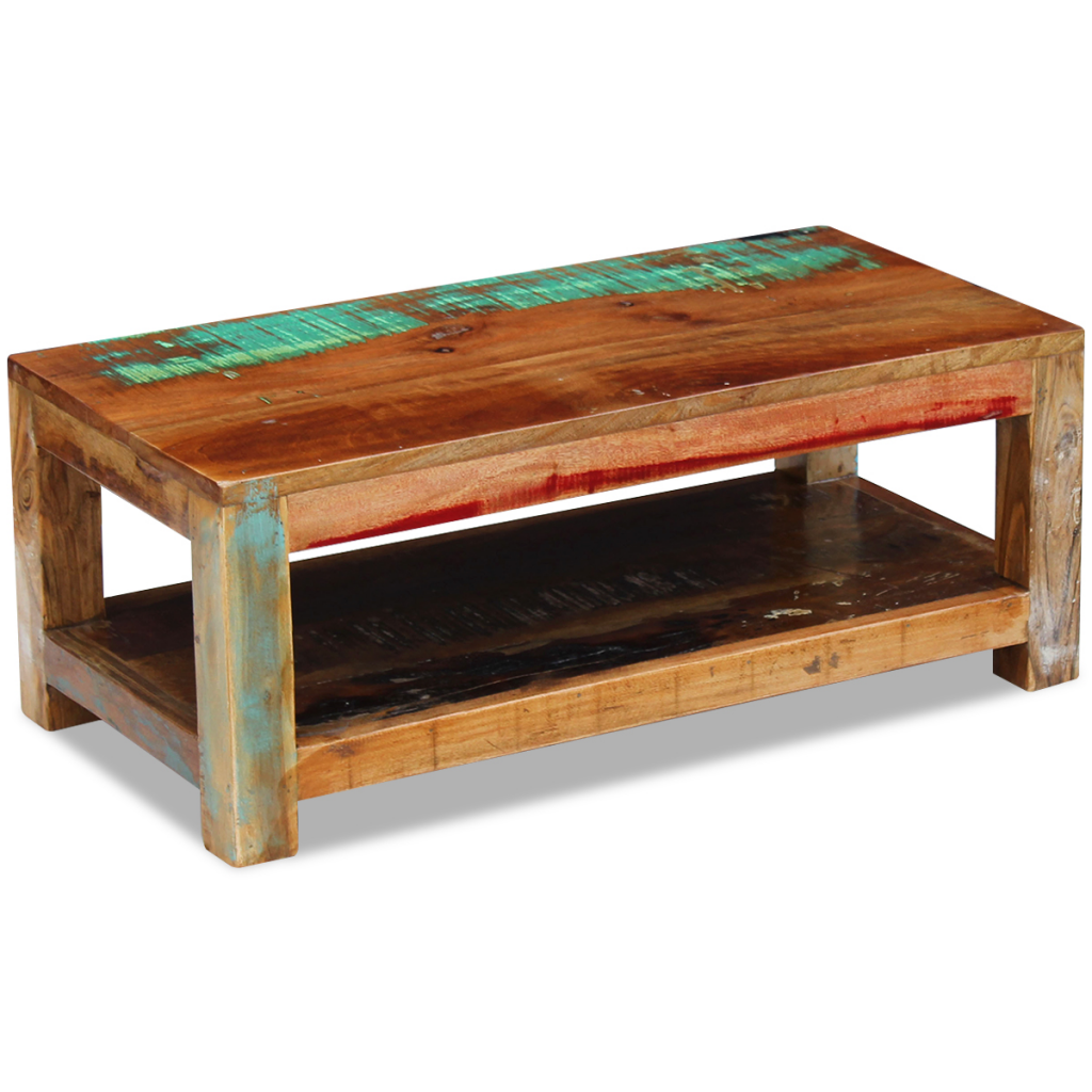 "Picture of Living Room Coffee Table - 35"" Reclaimed Wood"