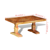 Picture of Living Room Coffee Table Antique-style - Reclaimed Solid Wood