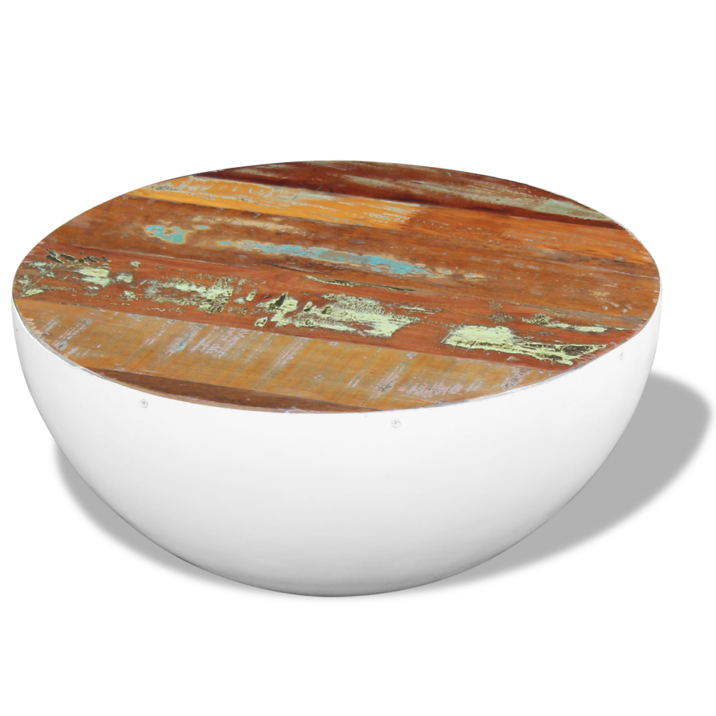 Picture of Living Room Coffee Table Bowl Shaped - Reclaimed Wood