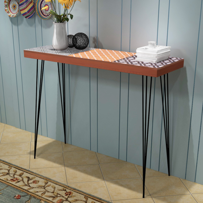 Picture of Living Room Console Table - Brown