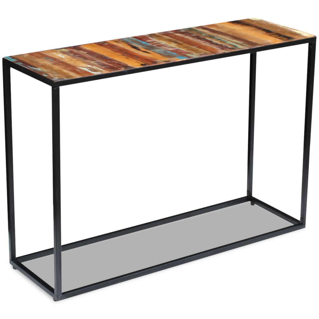 Picture of Living Room Console Table Solid - Reclaimed Wood