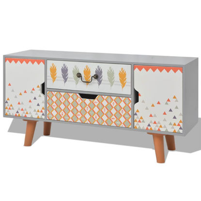 """Picture of Living Room Hallway Sideboard MDF 39"""" - Gray"""